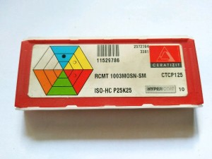 Insert RCMT 10 03 MOSN merk Ceratizit baru