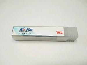Endmill 12 mm 2flute merk YG baru