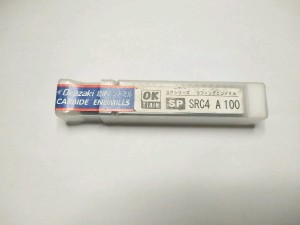 Endmill roughing 10 mm carbide merk Okazaki baru