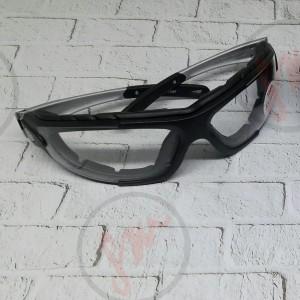 kacamata safety dua fungsi clear/bening kacamata sepeda