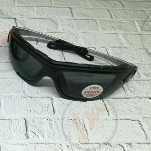kacamata safety dua fungsi smoke lens