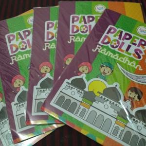 Paper Doll / Mainan bongkar pasang / orang-orangan edisi Ramadhan