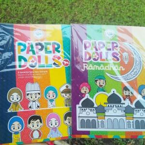 Mainan / Kado Anak Perempuan Paper Dolls / Orang2an / Bongkar Pasang
