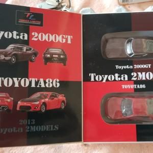 Tomica TLC Toyota 2 Model