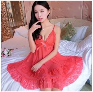 Sexy Lingerie Pakaian Dalam Seserahan Baju Tidur Murah 71888113 Coral