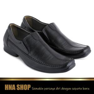 Sepatu Formal + Pantofel + Kerja + Kantor + Kulit + Pria