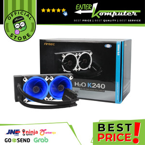 Antec Kuhler H2O K240 240mm Radiator - Dual LED Fan