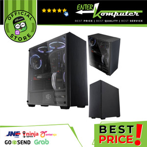 CUBE GAMING WESCOV - FULL SIDE TEMPERED GLASS - PSU COVER
