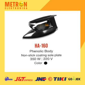 MASPION HA-160 DRY IRON / SETRIKA HA 160 / HA160