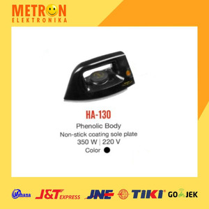 MASPION HA-130 DRY IRON / SETRIKA HA-130 / HA130