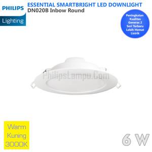 Lampu Downlight LED Philips 8W DN020B 8 W Warm White Kuning