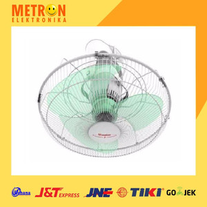 "MASPION MOF-401 P ORBIT FAN / KIPAS ANGIN 16"" MOF 401 P / MOF401P"