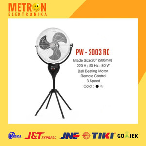 "MASPION PW-2003 RC POWER FAN 20"" / KIPAS ANGIN PW 2003 RC / PW2003RC"