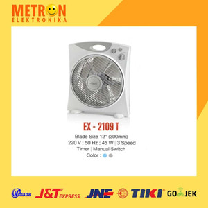 "MASPION EX-2109 T BOX FAN 12"" / KIPAS ANGIN BOX EX 2109 T / EX2109T"