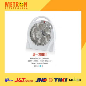"MASPION JF-2108 T BOX FAN 12"" / KIPAS ANGIN BOX JF 2108 T / JF2108T"