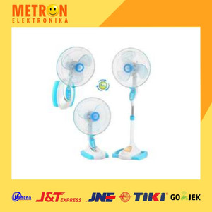 "MASPION F-1624 S STAND FAN 16"" / KIPAS ANGIN 3 IN 1 F 1624 S / F1624S"