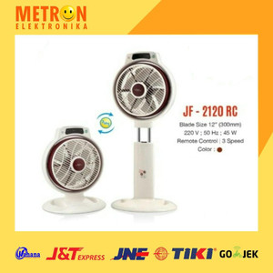 "MASPION JF-2120 RC / 12"" / KIPAS ANGIN 2 IN 1 JF 2120 RC / JF2120RC"