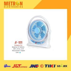 "MASPION JF-1221 BOX FAN 10"" / KIPAS ANGIN BOX JF 1221 / MASPION JF1221"