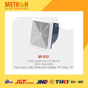 MASPION MV-16 EX VENTILATING FAN 160 mm / MV 16 EX / MV16EX