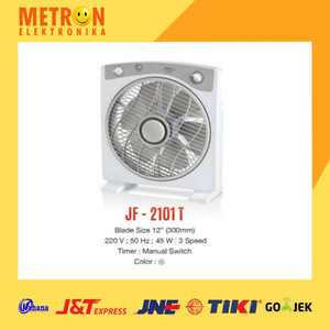 "MASPION JF-2101 T BOX FAN 12"" / KIPAS ANGIN BOX JF 2101 T / JF2101T"