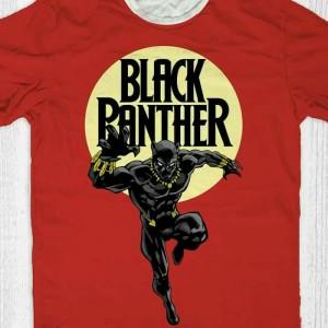Kaos Baju Black Phanter BP-01