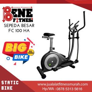 FC 100 HA elliptical Sepeda Statis BESAR Alat Fitness olahraga fitnes