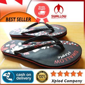 Sandal Jepit Wanita Swallow Maple Sandal Wanita Ukuran 9.5 Baru