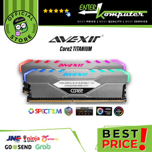 Avexir DDR4 Core2 Titanium PC21330 8GB (2X4GB) Dual Channel