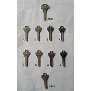 GOAL Key Blank Individual 5 Pin & 6 Pin & Grand Master Key
