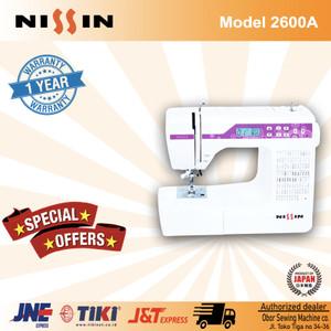 Mesin jahit Nissin 2600A sewing machine