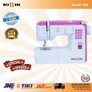 Mesin Jahit portable Nissin 588 Sewing Machine