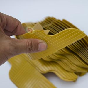 Plastik sudut coklat divan ( 30pc)