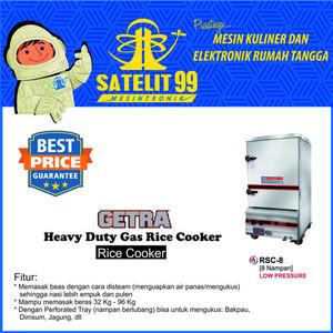 HEAVY DUTY GAS COOKER GETRA RSC-8 RESMI