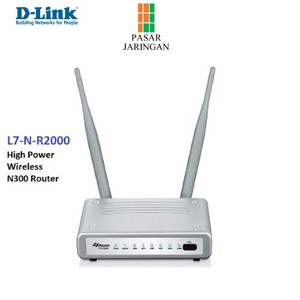 D-Link L7 N300 Router 4 Ports High Power Wireless