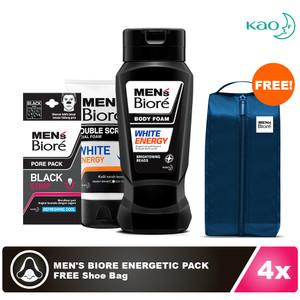 Men's Biore Energetic Pack FREE Shoe Bag