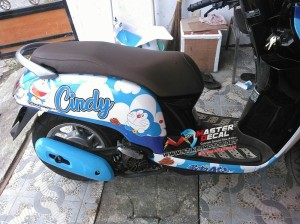 Jual Stiker Motor All New Scoopy Esp Doraemon Grade B Odpt1628 Kota Surabaya Angelika Gallery Tokopedia