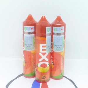 Liquid Exo Mango Exotic Manggo 3Mg 60ML By Exo Monk Liquid Premium Ori