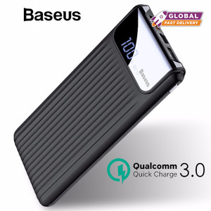 Baseus 10000mAh LCD Quick Charge 3.0 Dual USB Power Bank
