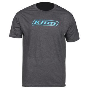 Klim Word T-Shirt Charcoal Gray Size L