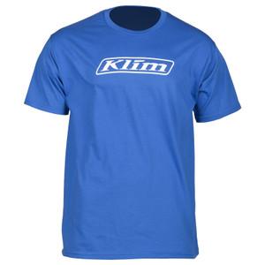 Klim Word T-Shirt Royal Blue Size M