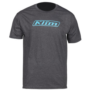 Klim Word T-Shirt Charcoal Gray Size M