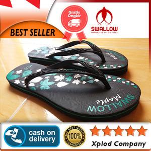 Sandal Jepit Swallow Wanita Swallow Maple Ukuran 10.5 Spesial 12 12