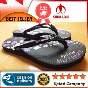 Sandal Wanita Swallow Maple Sandal Jepit Wanita for Ladies Ukuran 10
