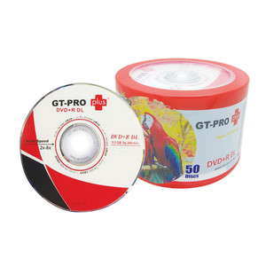 ECER DVD+R GTPRO Plus Double Layer ECER