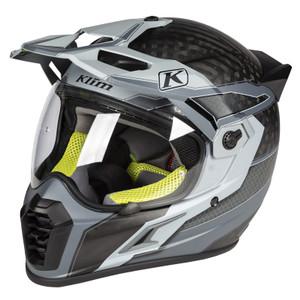Klim Krios Pro Karbon Adventure Helmet ECE/DOT Arsenal Gray Size XL
