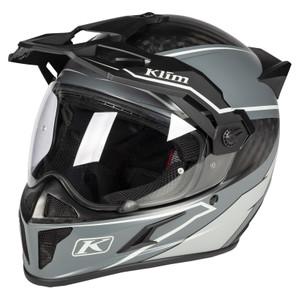 Klim Krios Karbon Adventure Helmet ECE/DOT Valiance Gray Size M