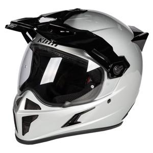 Klim Krios Karbon Adventure Helmet ECE/DOT Gloss Silver Size M