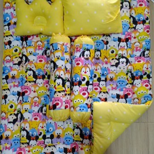 Baby Bedding Set - Mickey Mouse Yellow