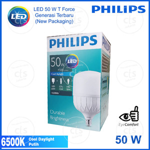 Lampu LED Philips 50W 50 W 50 Watt 50Watt Putih