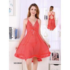 Lingerie Elegan Pakaian Dalam Sleepwear 71945106 Coral